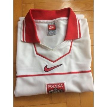 Koszulka Reprezentacji Polski NIKE 1997-98 UNIKAT