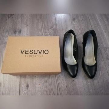 Czółenka czarne Vesuvio roz. 38