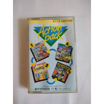 GRA AMSTRAD ROM ACTION PACK 4 IN 1