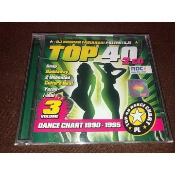 TOP 40 DANCE CHART VOL 3 1990-1995