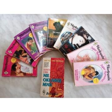 Niepowtarzalna kolekcja harlequin romance PRL,r.90