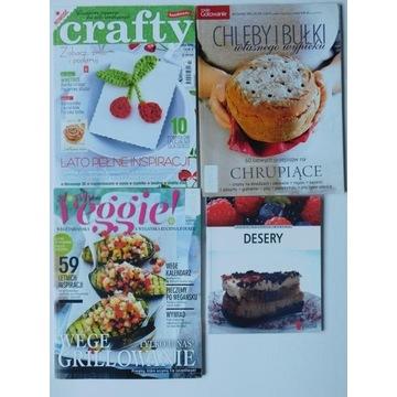 Gazety kulinarne przepisy kuchnia zestaw