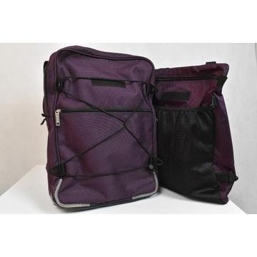 Duży podwójny plecak JEVA nowy