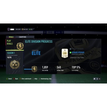 FIFA 22 BOOST WBIJANIE RANG FUT CHAMPIONS RIVALS