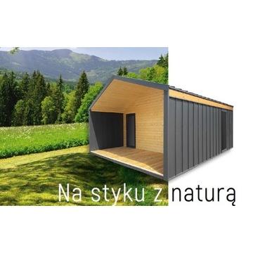 Nowoczesne domki letniskowe,drewniane,garaże,wiaty