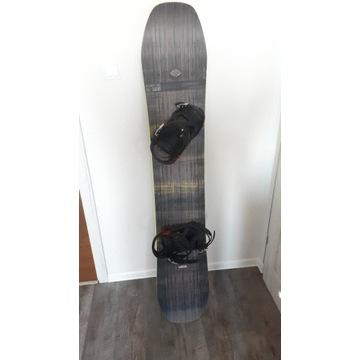 Deska snowboardowa WEDZE BullWhip 500 163cm