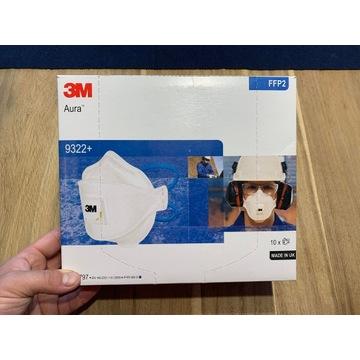 Półmaska filtrująca 3M Aura 0322+ 10szt. KOMPLET!