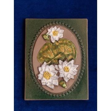 Obrazek ceramiczny Jie Gantofta Nymphaea Nr 893