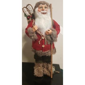 Mikołaj swiąteczny 44cm duzy