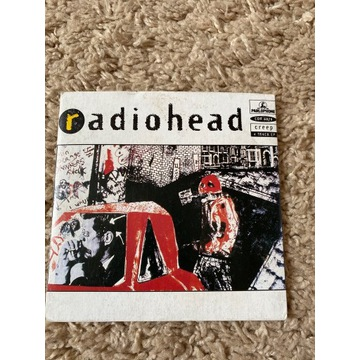 Radiohead CREEP 1 wyd