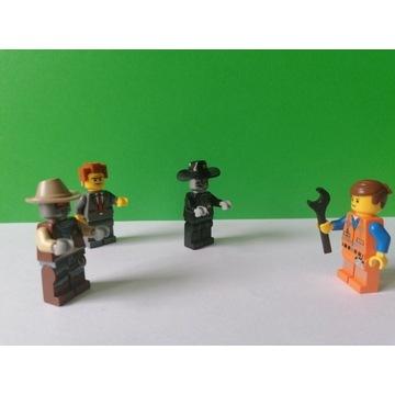 Lego przygoda zestaw 4 figurek