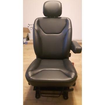 Fotel pasażera opel VIVARO renault TRAFFIC skóra