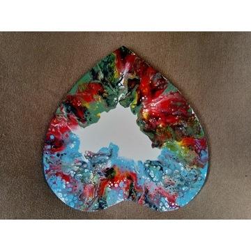 Obraz ręcznie malowany, abstrakcja