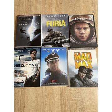 Zestaw 6 filmów na DVD