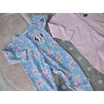 Pajacyki Minnie Mouse 18-24 92 piżamka