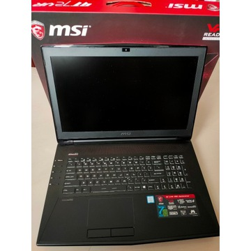 MSI Dominator GT72VR i7 7700H 16GB 250G GTX1060 6G