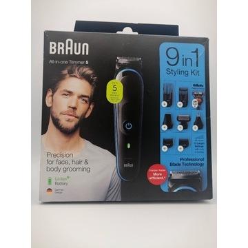 Trymer-maszynka do włosów Braun MGK5280 9w1