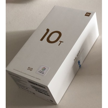 Smartphone Xiaomi Mi 10T Cosmic Black 6GB 128 GB