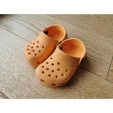 Crocs Classic Clog K rozmiar 22 Pomarańczowe
