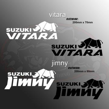 Naklejka Suzuki Vitara lub Jimny