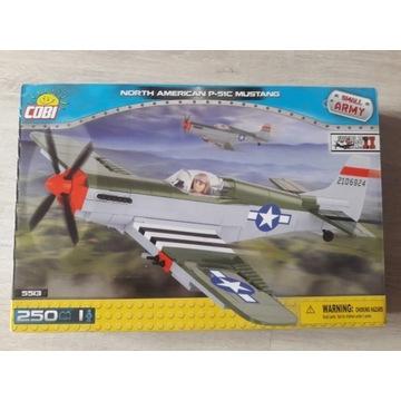 Cobi 5513 North American P-51C Mustang Small Army