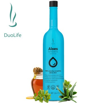 DuoLife Aloes - zachowaj młody wygląd swojej skóry