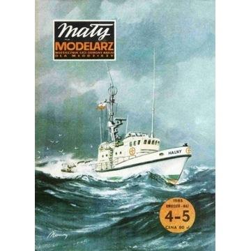Mały Modelarz 1985 85 Statek ratowniczy Halny
