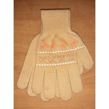 Nowe rękawiczki dla dziewczynki dziecięce 18cm 9L