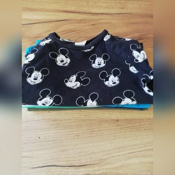Koszulka z długim rękawem H&m  Mickey hm cool club