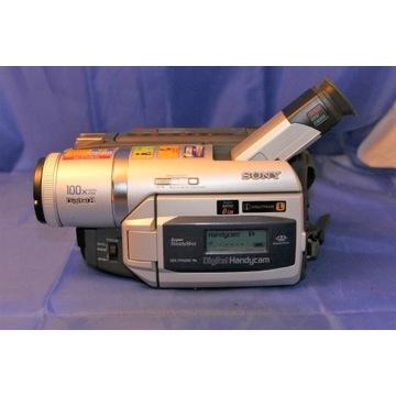 kamera sony digital8 dcr-trv620e top model av/dv
