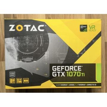 ZOTAC GTX 1070Ti 8GB 256bit - komplet z gwarancją