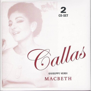 MARIA CALLAS LIVE Verdi - Macbeth 2cd