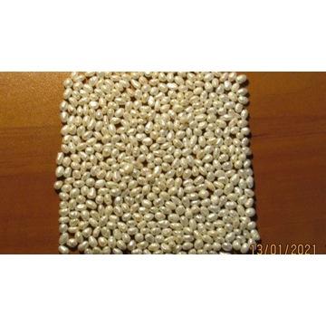"Perły naturalne białe ""rice"" 100 szt.(5mm)"