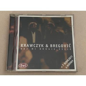 """CD """"Krawczyk & Bregović +7 bonus z Kayah"""" + gratis"""