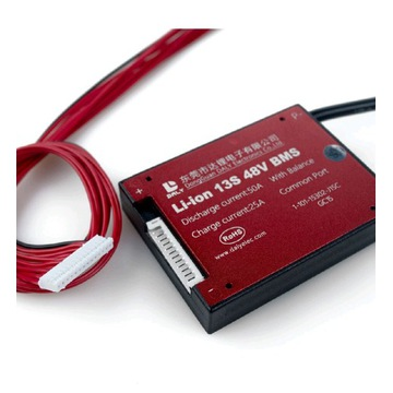 Moduł BMS 13S 48V 50A Li-Ion Balanser, PCM, PCB