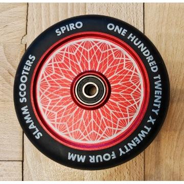 Kółko koło Slamm hollow core 120mm spiro red