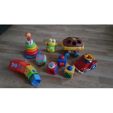 Zabawki edukacyjne kostki auto chicco fisher price