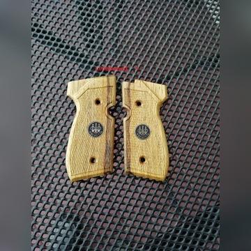 Okładziny drewniane do wiatrówki Beretta 92fs