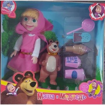 Zestaw Lalka Masza NIEDZWIEDZ  dla Dzieci Zabawka