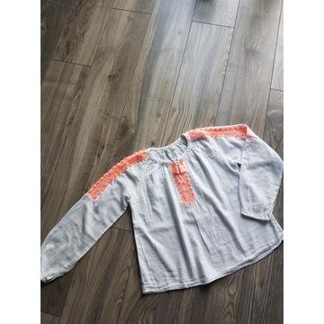 ZARA bluzeczka -koszulowa 11-12/152 Super