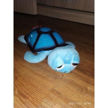 Żółwik- projektor nocnego nieba, lampka nocna z mu