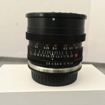 LEICA ELMARIT R 24/2.8 z mocowaniem Canon'a
