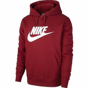 Bluza Męska Nike Sportswear Z Kapturem XL BORDOWA
