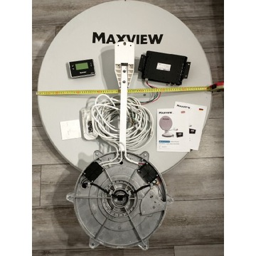Antena satelitarna Maxview 85cm kamper kampingowa