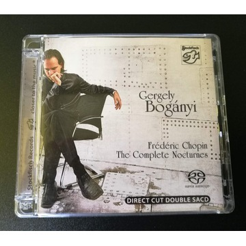 Gergely Boganyi CHOPIN - Nocturnes SACD-STOCKFISCH