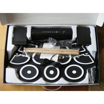 Przenośny elektroniczny zestaw perkusyjnych