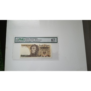 500 złotych 1982 PMG 67 EPQ