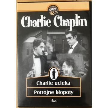 Charlie Chaplin- Charlie ucieka, Potrójne kłopoty