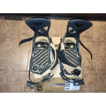 Wiązania snowboardowe NITRO Phantom Carver L
