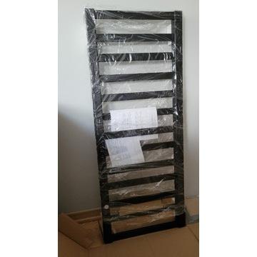 Grzejnik łazienkowy Fen 990x400 czarny mat NOWY
